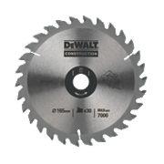 DeWalt DT1203-QZ TCT Circular Saw Blade 165 x 10mm 16T
