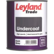 Leyland Trade Undercoat Dark Grey 750ml
