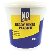 No Nonsense Ready Mixed Plaster White 10kg