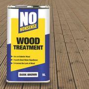 No Nonsense Wood Treatment Dark Brown 5Ltr