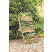 Forest Cascade Planter Natural 0.6 x 1.3 x 0.3m