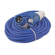CED 240V Extension Lead Blue 2.5mm x 14m