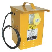 Continuous Portable Transformer with Output Sockets 3kVA
