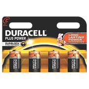 Duracell C Alkaline Batteries Pack of 4