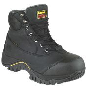 Dr Martens Heath Safety Boots Black Size 8