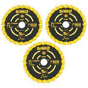 DeWalt DT10304-QZ Extreme TCT Circular Saw Blades 24T 190 x 30mm Pack of 3