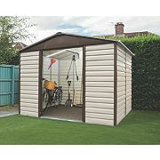 Yardmaster Sliding Door Apex Shed 10 x 8