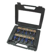 "Titan Router Bit Set ¼"" Shank 10 Piece Set"