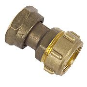 Conex Straight Tap Connector 303 22mm x ¾""
