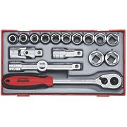 """Teng Tools ½"""" Socket Set 17 Pieces"""