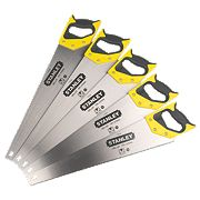 "Stanley Sharpcut Saws 7Tpi 22"" Pack of 5"