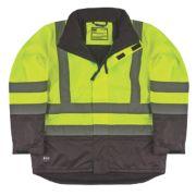 Helly Hansen Insulated Hi-Vis Jacket Yellow/Charcoal Medium 39