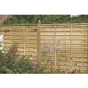 Larchlap Solway Fence Panels 1.8 x 1.8m Pack of 10