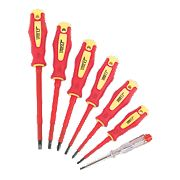 Forge Steel VDE Screwdriver Set 7 Pieces