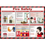 Fire Safety Poster 420 x 594mm