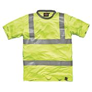 "Dickies SA22080 Hi-Vis T-Shirt Saturn Yellow XX Large 54"" Chest"