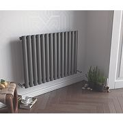 Ximax Fortuna Horizontal Designer Radiator Anthracite 600x826mm