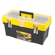 "Stanley 19"" Clear Lid Tool Box"