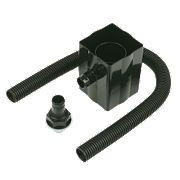 Rainwater Diverter Black 70mm