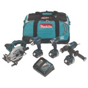 Makita DLX4002M 18V 4.0Ah Li-Ion Cordless 4-Piece Kit LXT
