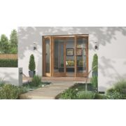 Jeld-Wen Canberra Slide & Fold Patio Door Set Golden Oak 2394 x 2094mm