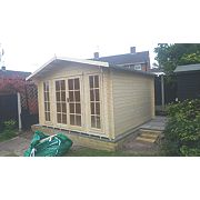 Epping 3 Log Cabin Assembly Included 3.5 x 3.5 x 2.6m