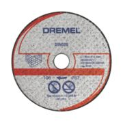 Dremel DSM520 Saw-Max Masonry Cutting Disc 55 x 5mm Pack of 2