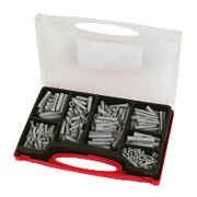 Fischer Nylon Plug Assortment Box 310 Pieces