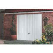 Carlton 8' x 7' Frameless Steel Garage Door White