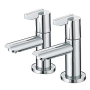 Bristan Sonique Bathroom Basin Taps Pair