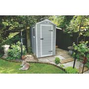 Keter Manor Plastic Shed 4' x 6' (Nominal)