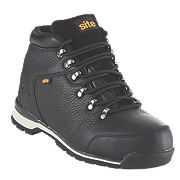 Site Meteorite Safety Boots Black Size 7
