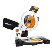 Evolution RAGE3B2101 210mm Compound Mitre Saw 110V