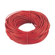PVC Sleeving 3mm x 100m Red