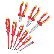 Forge Steel VDE Pliers & Screwdriver Set 9 Pieces