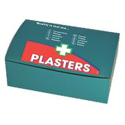 Wallace Cameron Assorted Waterproof Plasters Pack of 100