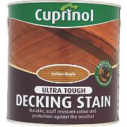 Cuprinol Ultra Tough Decking Stain Golden Maple 2.5Ltr
