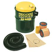 Record Power DX4000 106Ltr/sec Dust Extractor 230V