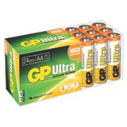GP Batteries Ultra Alkaline Batteries AA Pack of 24