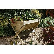 Forest Kitchen Garden Trough Natural 1 x 0.8 x 0.8m