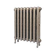 Cast Iron Art Nouveau 750 Designer Radiator Bronze H: 750 x W: 673mm
