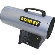 Stanley ST-40-GFA-E Black/Yellow LPG Fan Heater 12.3kW