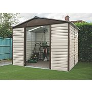 Yardmaster Shiplap Sliding Door Apex Shed 10 x 6 x