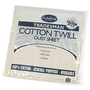 Cotton Twill Dust Sheet 24