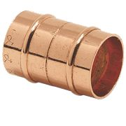 Yorkshire YPS1 Solder Ring Straight Couplers 22mm Pack of 2