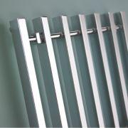 Kudox Filomena Designer Towel Radiator Chrome 800 x 800mm 403W 1570Btu