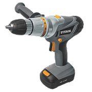 Titan CDI218GL 18V 1.3Ah Li-Ion Cordless Combi Drill