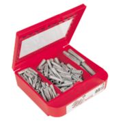 Fischer Universal Plug Selection Box 190 Pieces