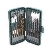 Erbauer 18pc Quick Change Mixed Drill Bit Set