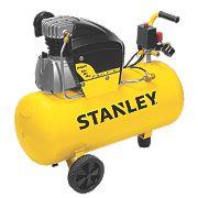 Stanley FCDV4G4SCR006 50Ltr Air Compressor 240V